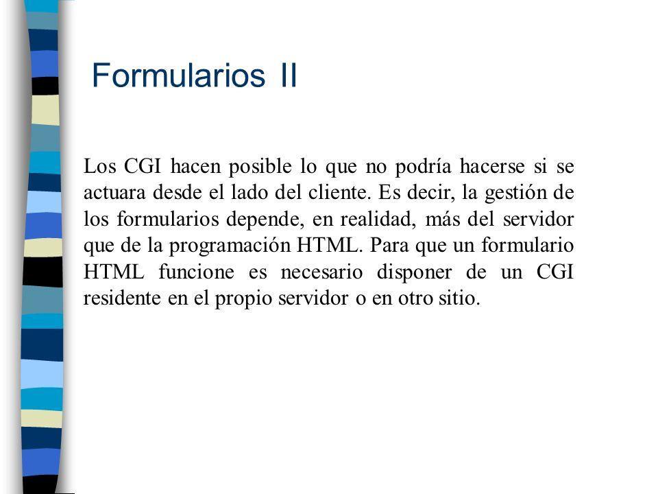 Formularios II