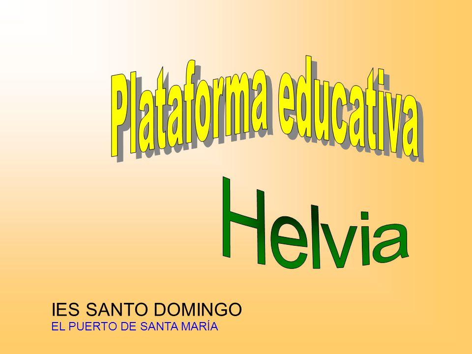 Plataforma educativa Helvia IES SANTO DOMINGO EL PUERTO DE SANTA MARÍA