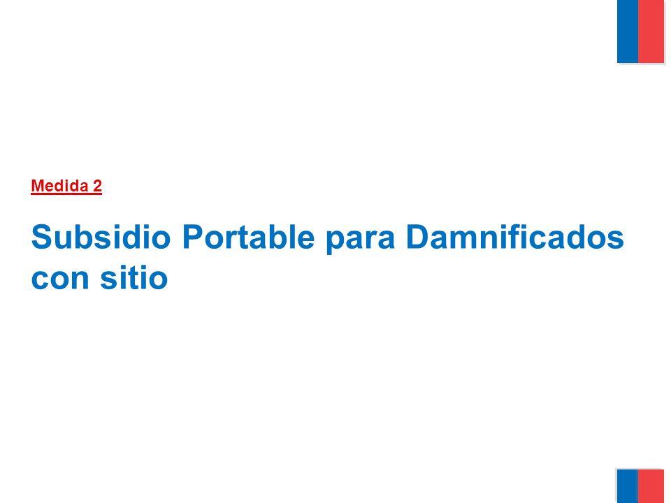 Medida 2 Subsidio Portable para Damnificados