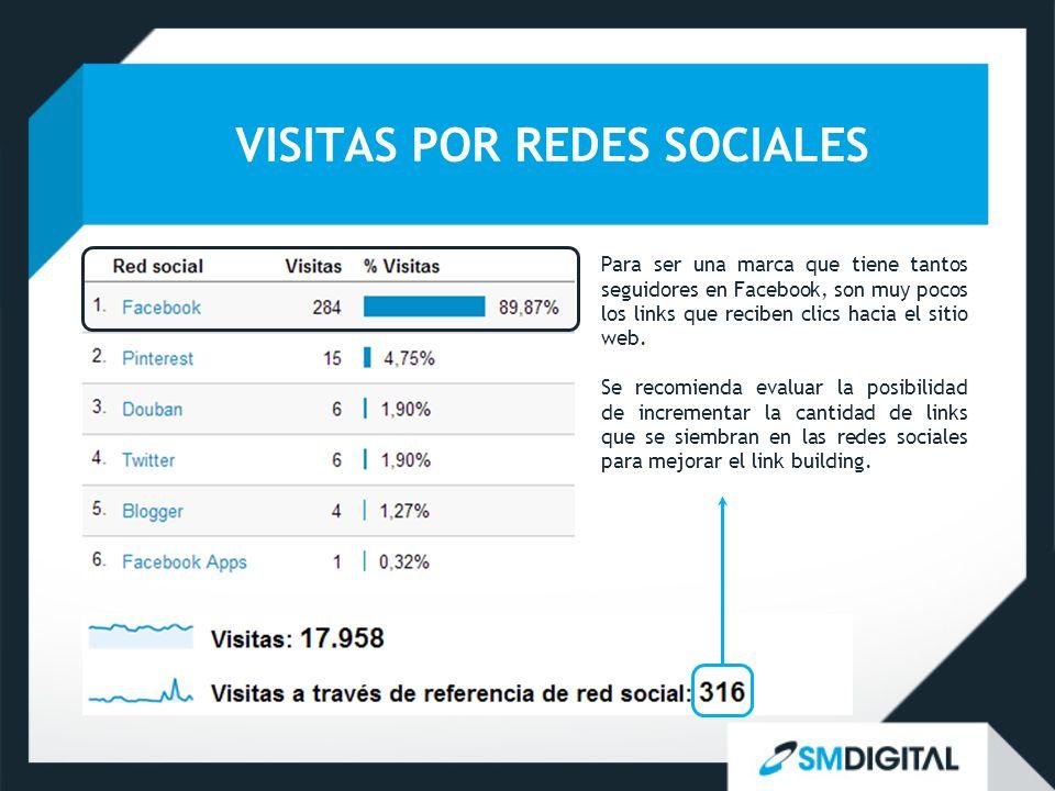VISITAS POR REDES SOCIALES
