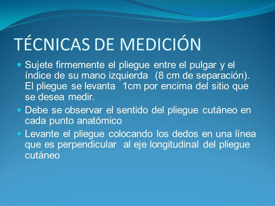 TÉCNICAS DE MEDICIÓN