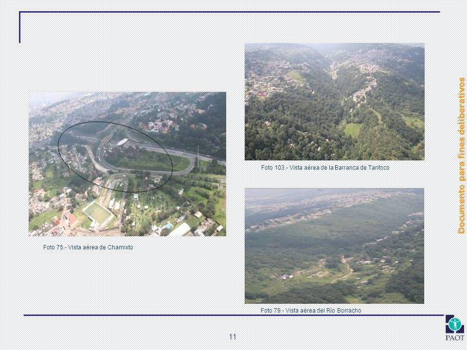 Foto 103.- Vista aérea de la Barranca de Tantoco