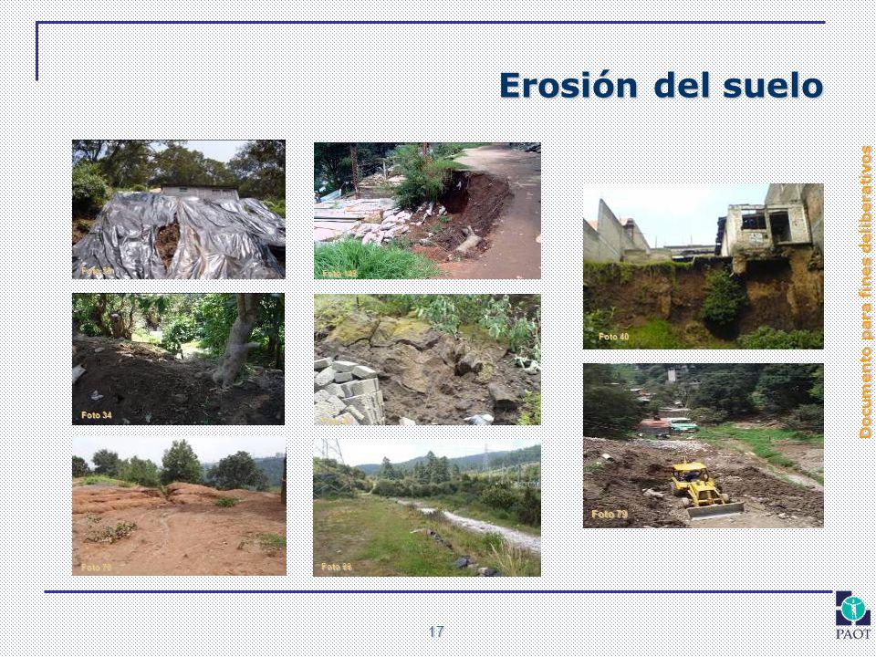 Erosión del suelo Foto 79 Foto 59 Foto 146 Foto 40 Foto 34 Foto 43