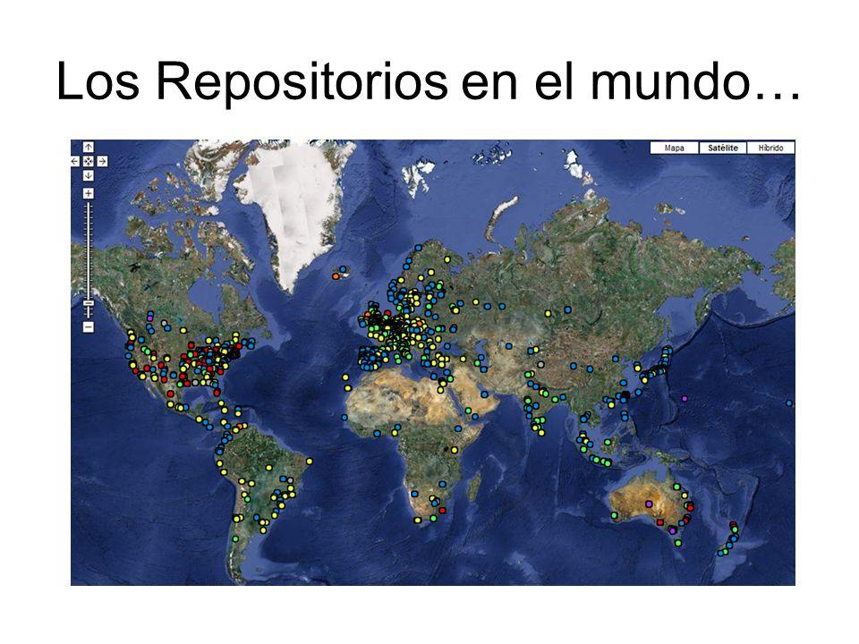 Los Repositorios en el mundo…