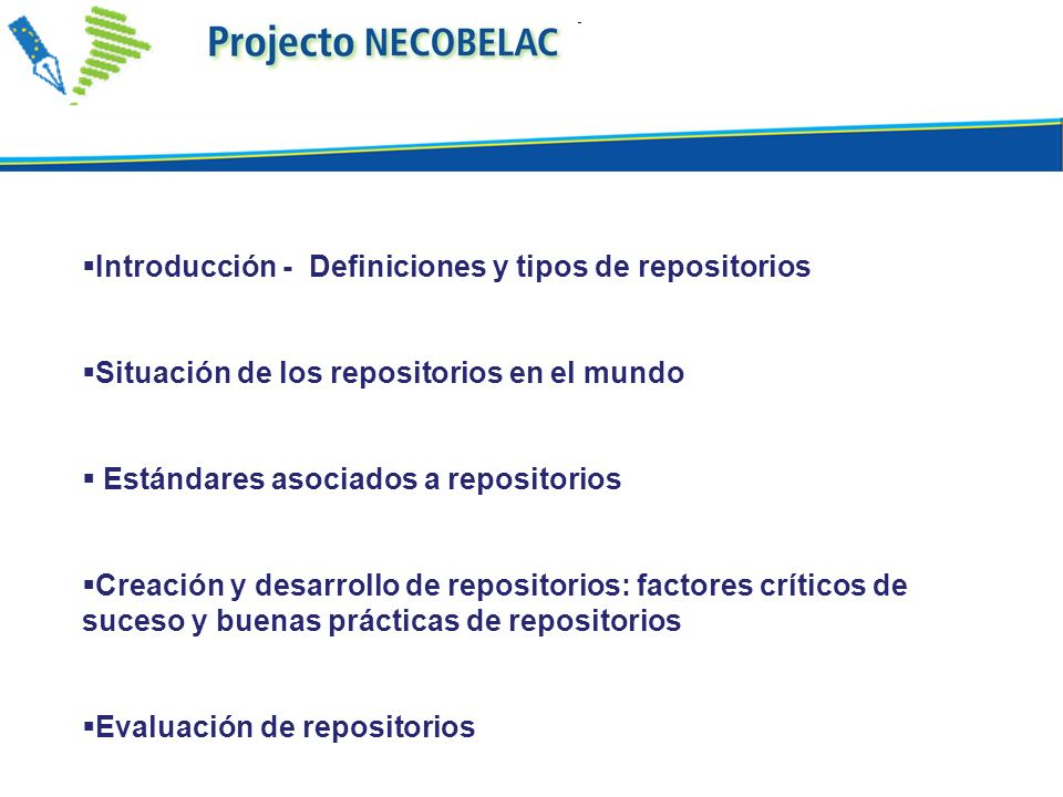 Introducción - Definiciones y tipos de repositorios