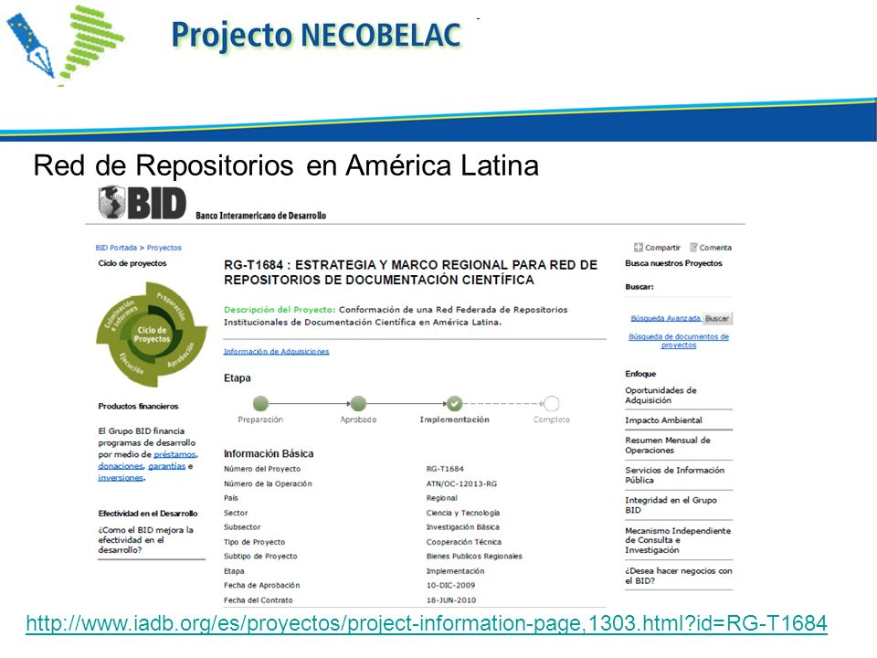 Red de Repositorios en América Latina