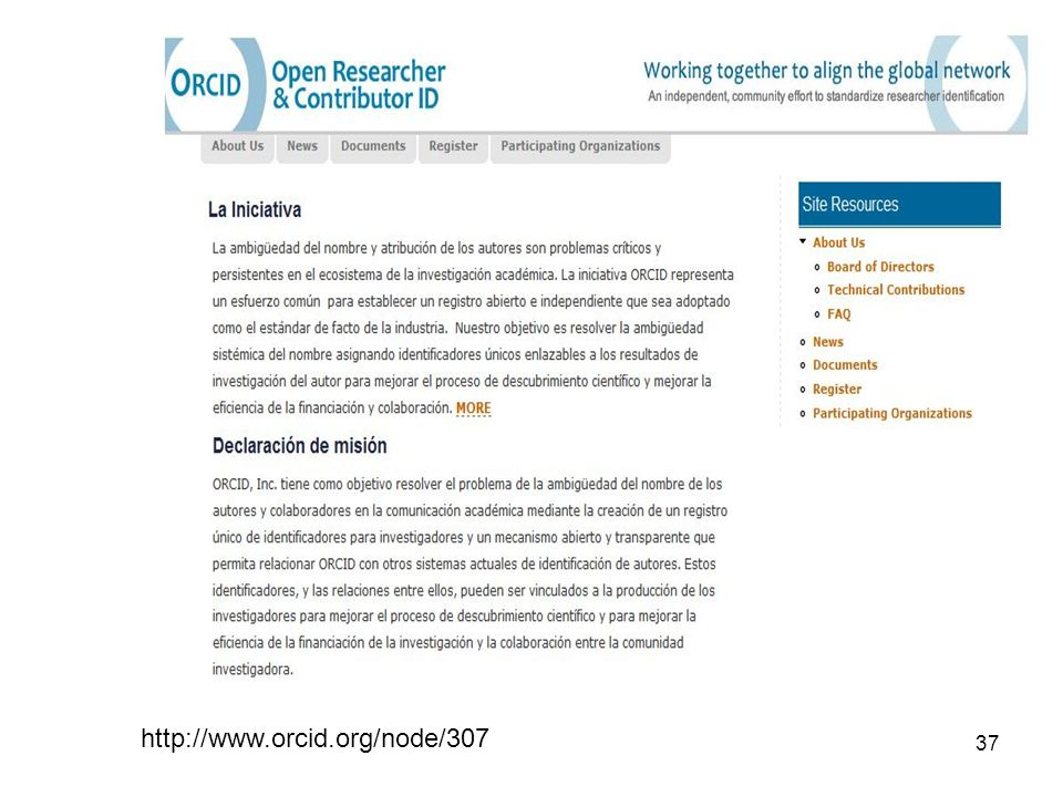 http://www.orcid.org/node/307