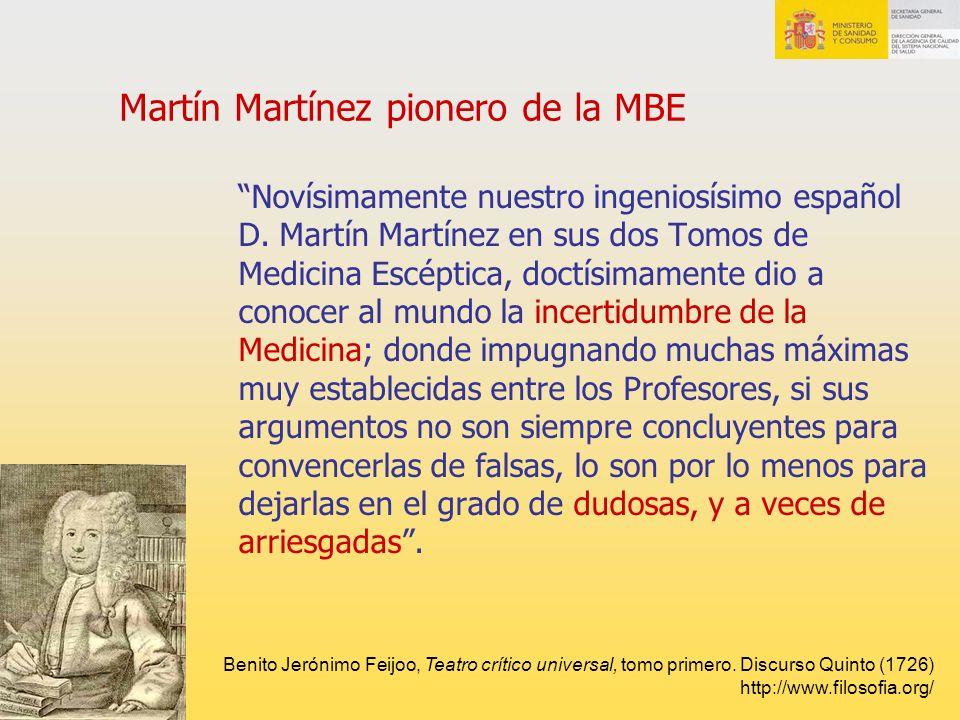 Martín Martínez pionero de la MBE
