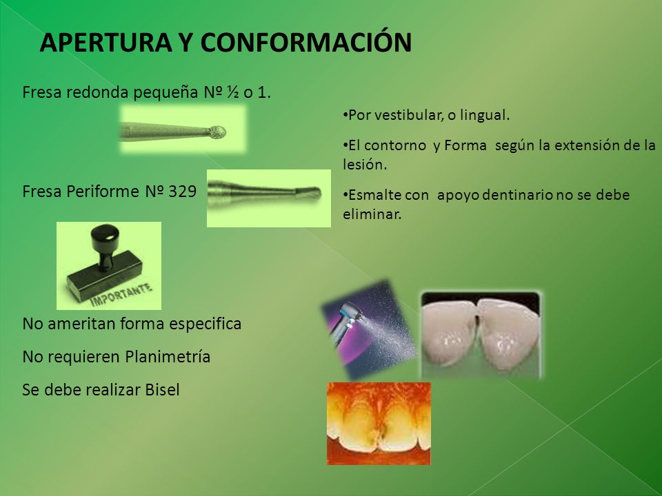 APERTURA Y CONFORMACIÓN