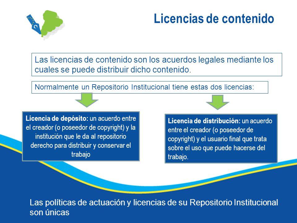 Licencias de contenido