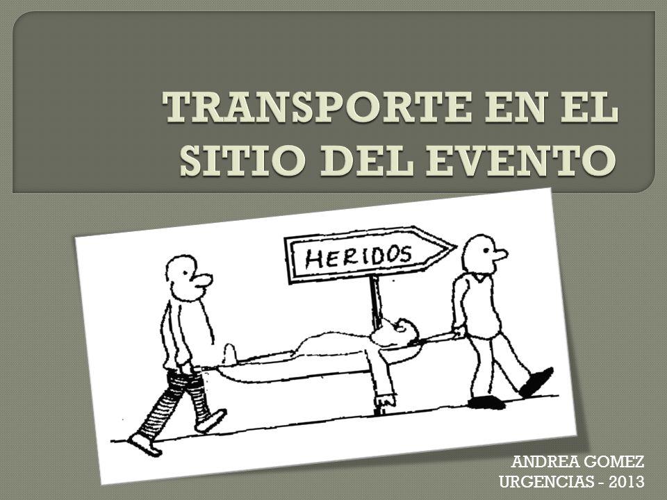 TRANSPORTE EN EL SITIO DEL EVENTO