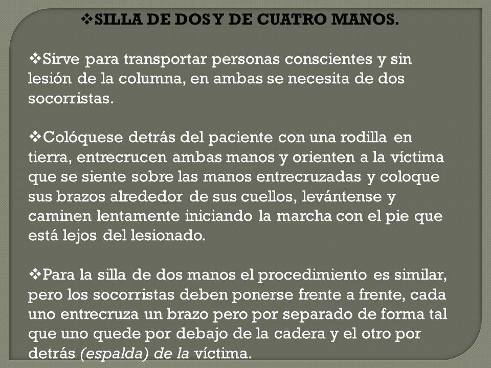 SILLA DE DOS Y DE CUATRO MANOS.