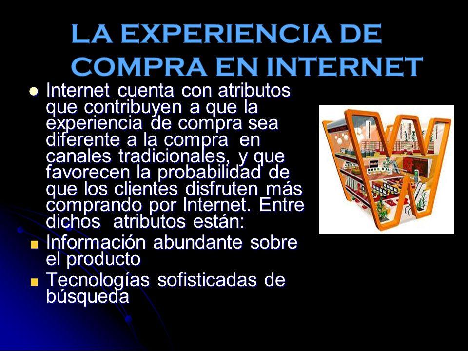 LA EXPERIENCIA DE COMPRA EN INTERNET