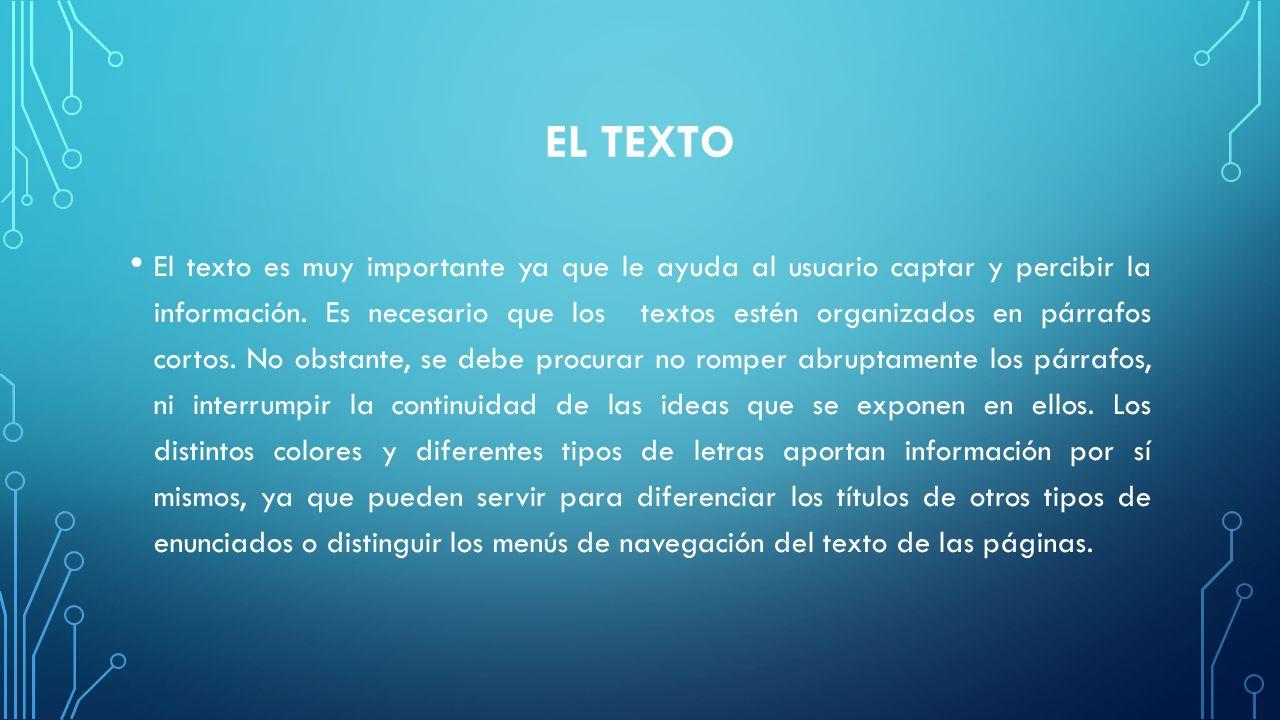 EL TEXTO