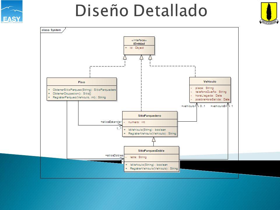 Diseño Detallado