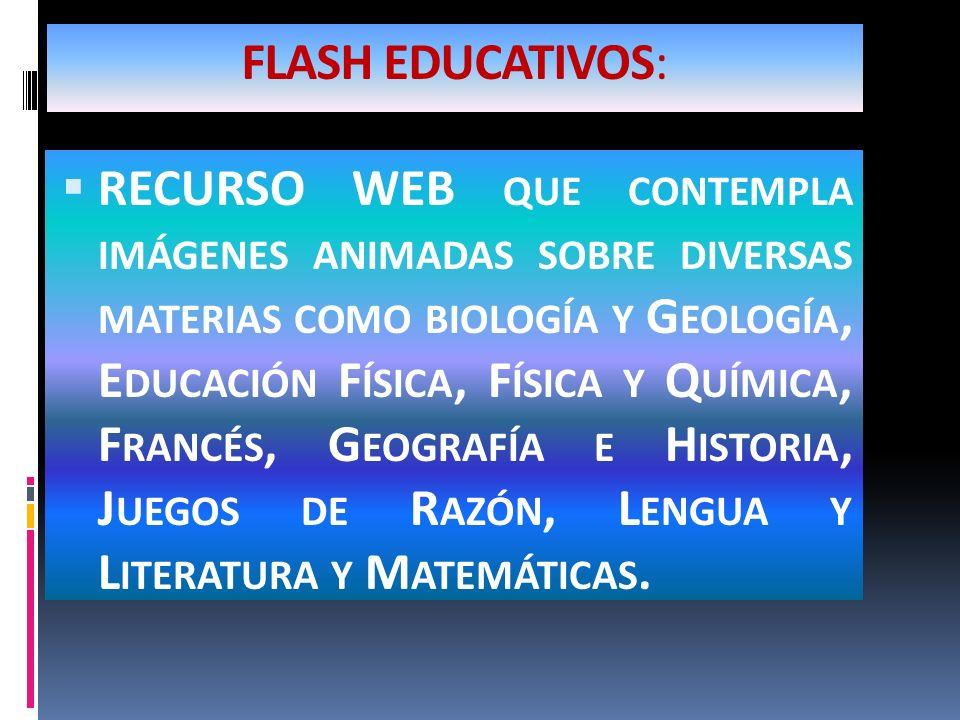 FLASH EDUCATIVOS: