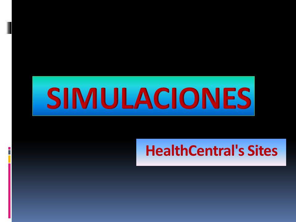 SIMULACIONES HealthCentral s Sites