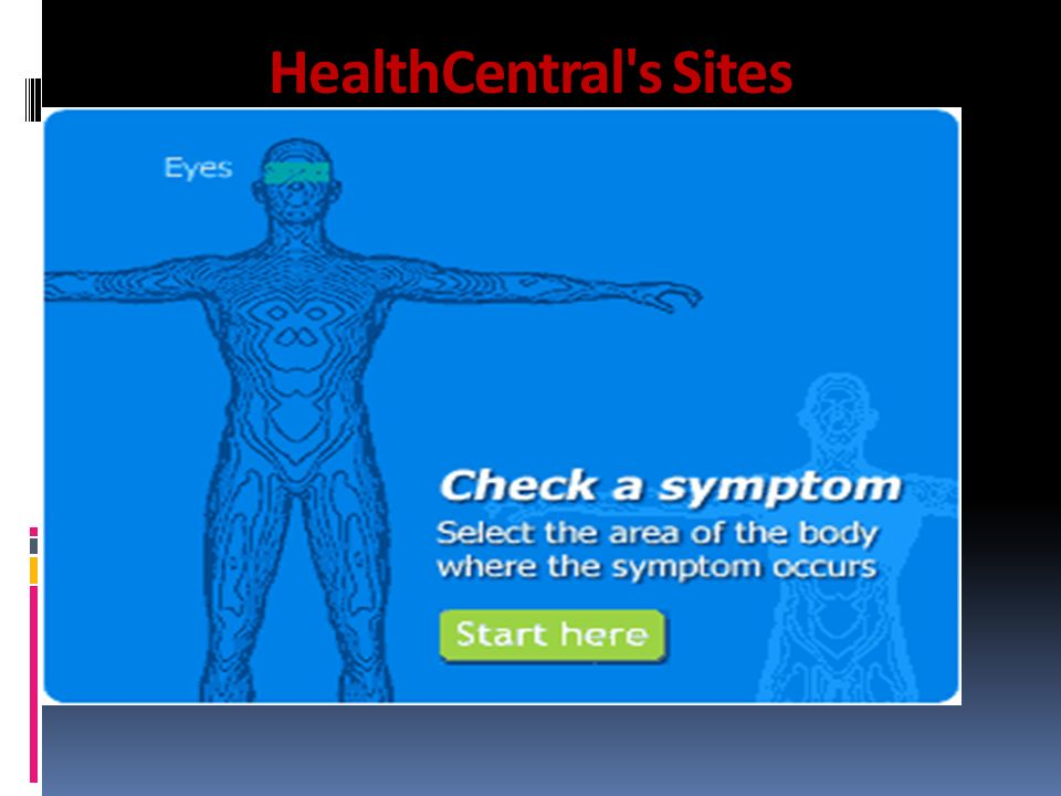 HealthCentral s Sites