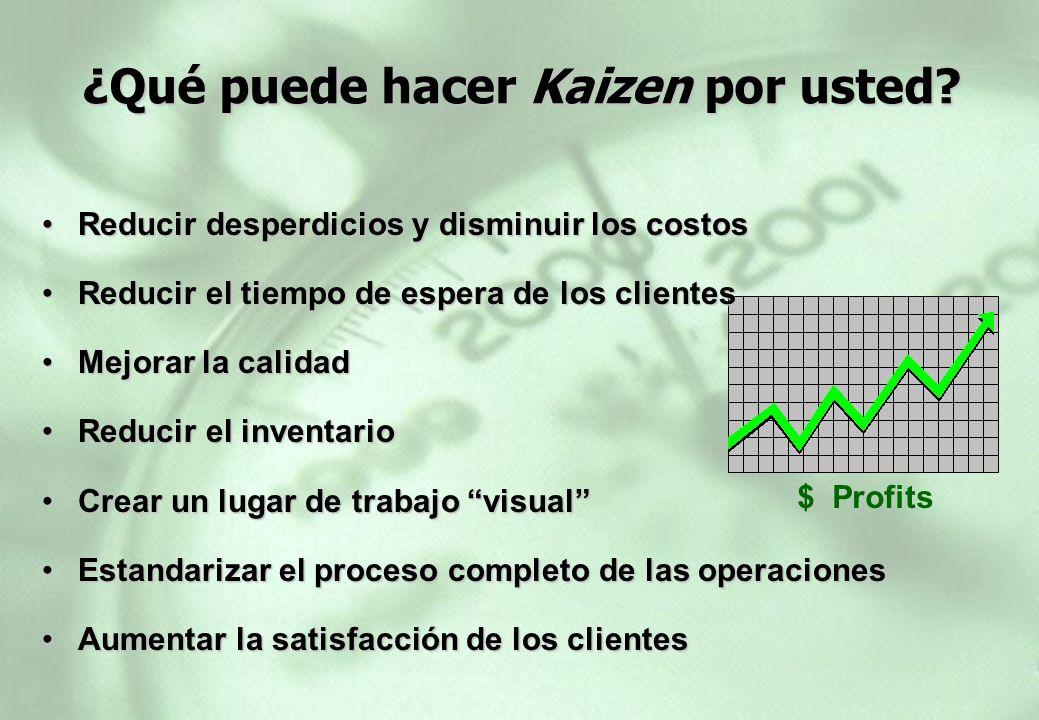¿Qué puede hacer Kaizen por usted