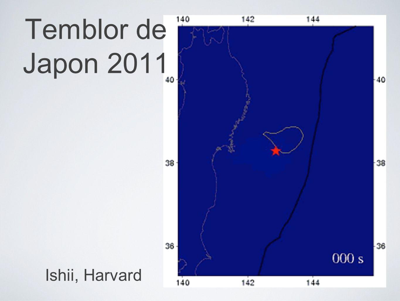 Temblor de Japon 2011 Ishii, Harvard