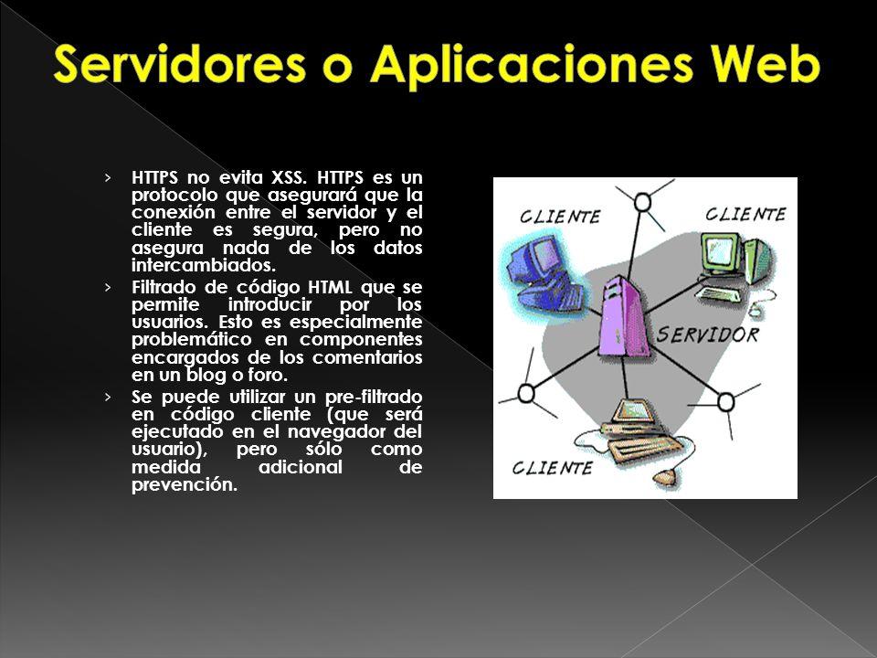 Servidores o Aplicaciones Web