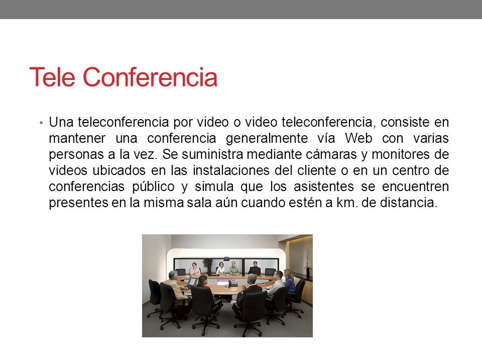 Tele Conferencia