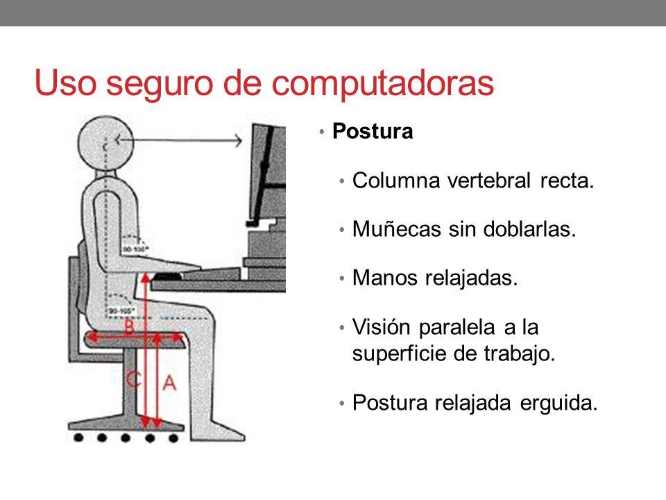 Uso seguro de computadoras
