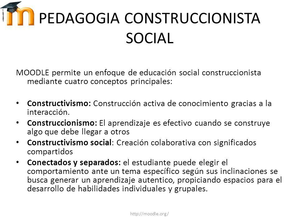 PEDAGOGIA CONSTRUCCIONISTA SOCIAL