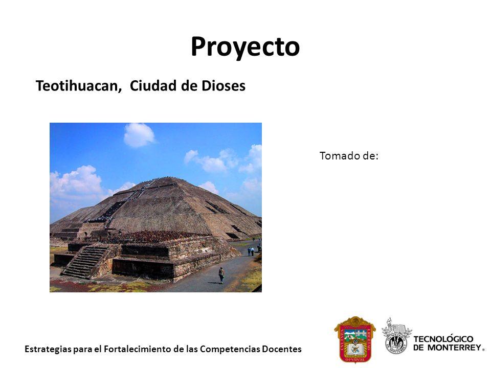 Proyecto Teotihuacan, Ciudad de Dioses Tomado de: