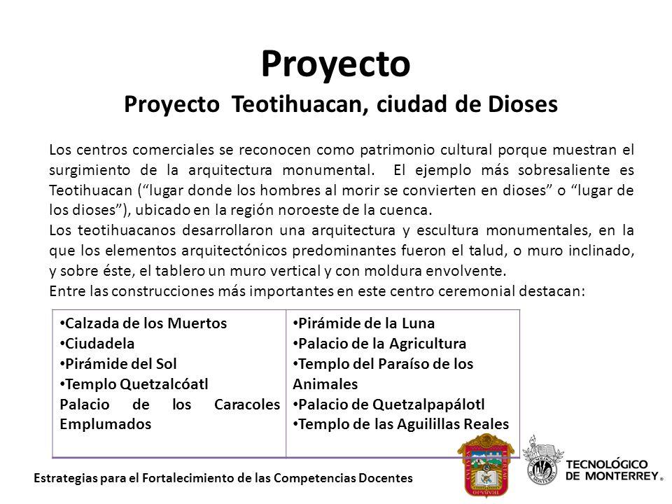 Proyecto Teotihuacan, ciudad de Dioses