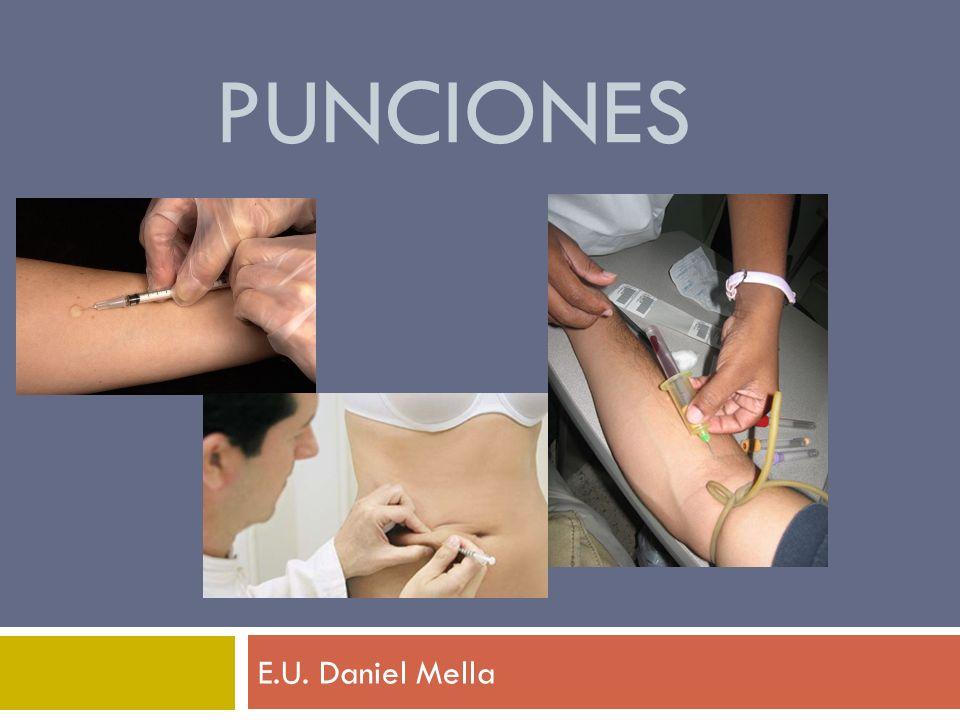 Punciones E.U. Daniel Mella