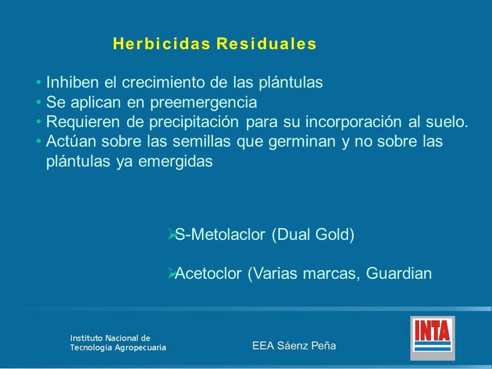 Herbicidas Residuales