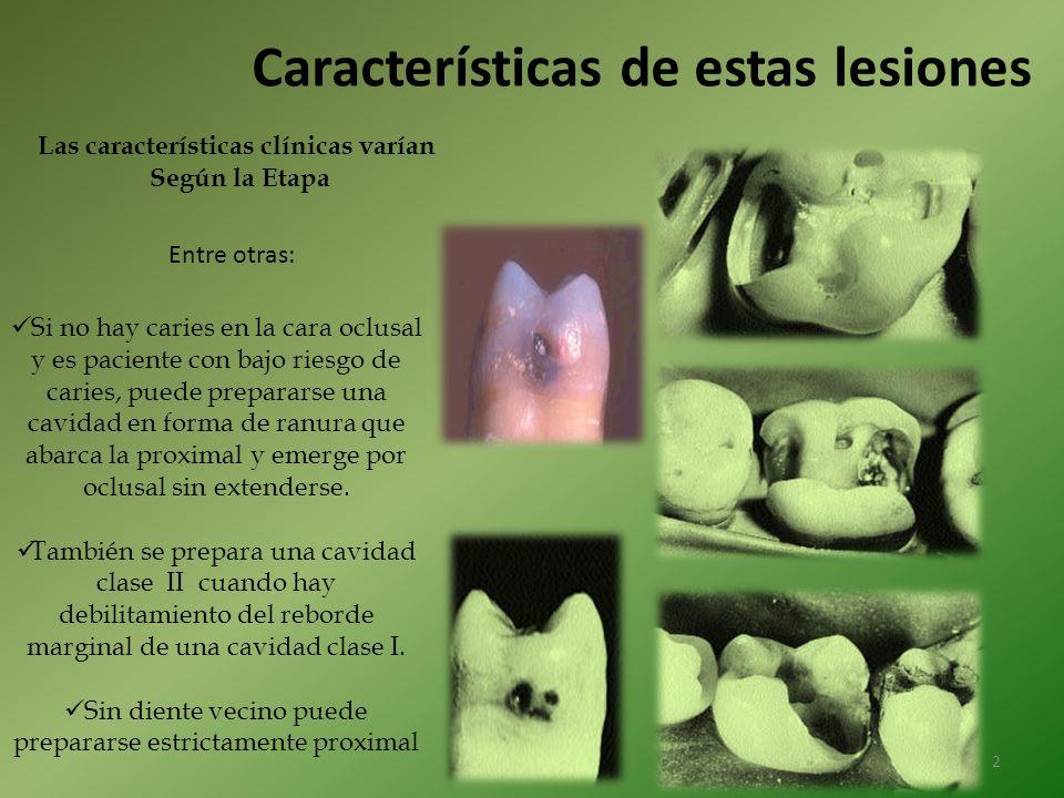 Las características clínicas varían