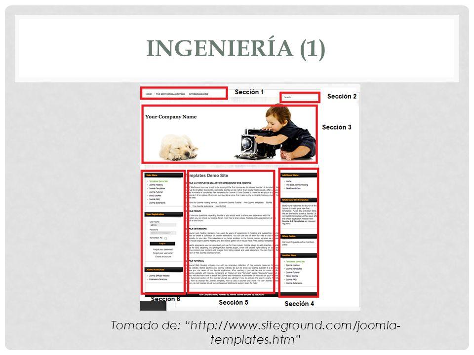 Tomado de: http://www.siteground.com/joomla-templates.htm
