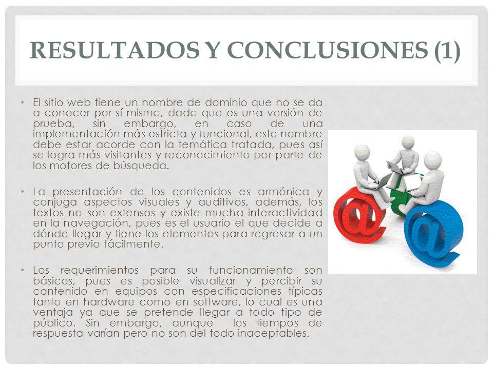 Resultados y conclusiones (1)
