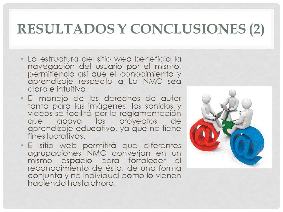 RESULTADOS Y CONCLUSIONES (2)
