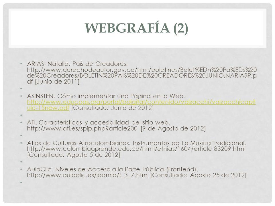 WEBGRAFÍA (2)