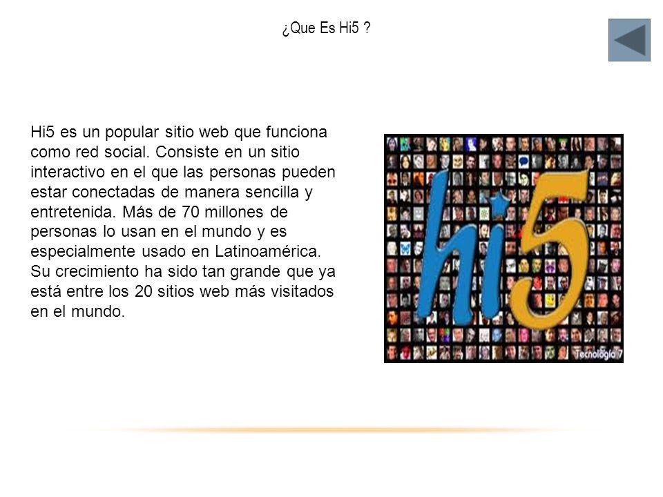 ¿Que Es Hi5