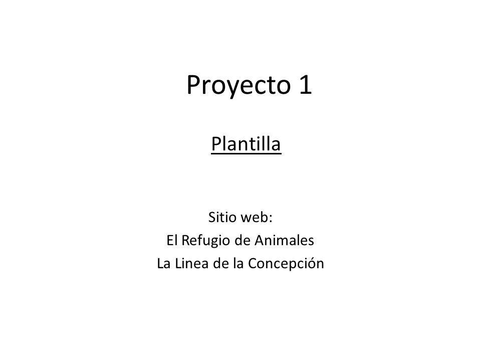 Sitio web: El Refugio de Animales La Linea de la Concepción