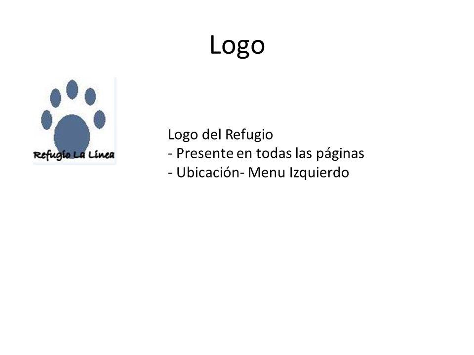 Logo Logo del Refugio - Presente en todas las páginas