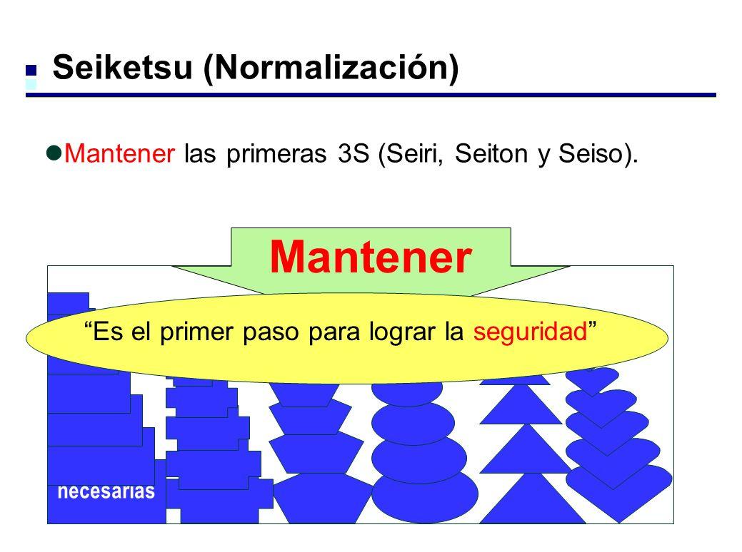 Mantener Seiketsu (Normalización)