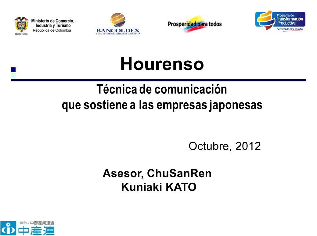 Hourenso Técnica de comunicación que sostiene a las empresas japonesas