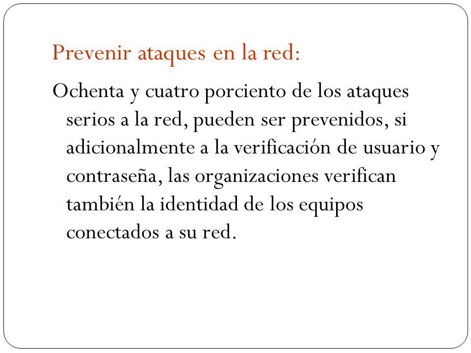 Prevenir ataques en la red: