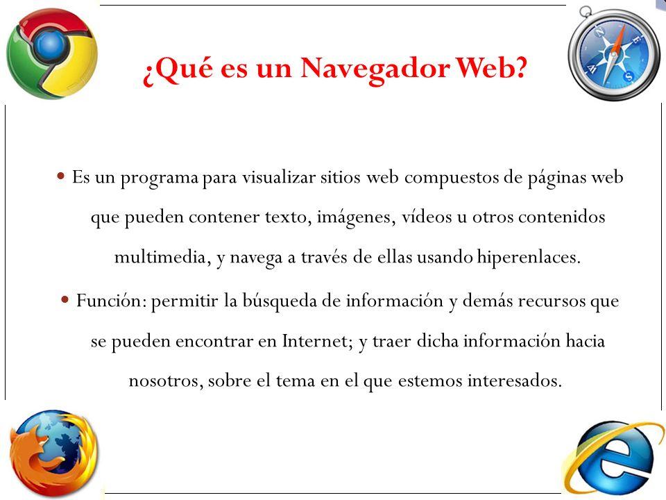 ¿Qué es un Navegador Web