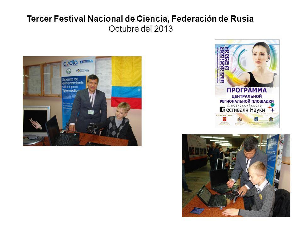 Tercer Festival Nacional de Ciencia, Federación de Rusia
