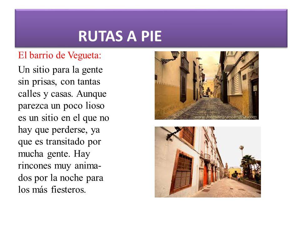 RUTAS A PIE El barrio de Vegueta: