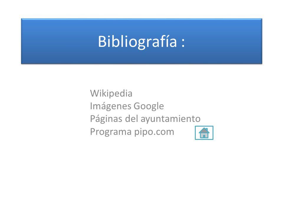 Wikipedia Imágenes Google Páginas del ayuntamiento Programa pipo.com