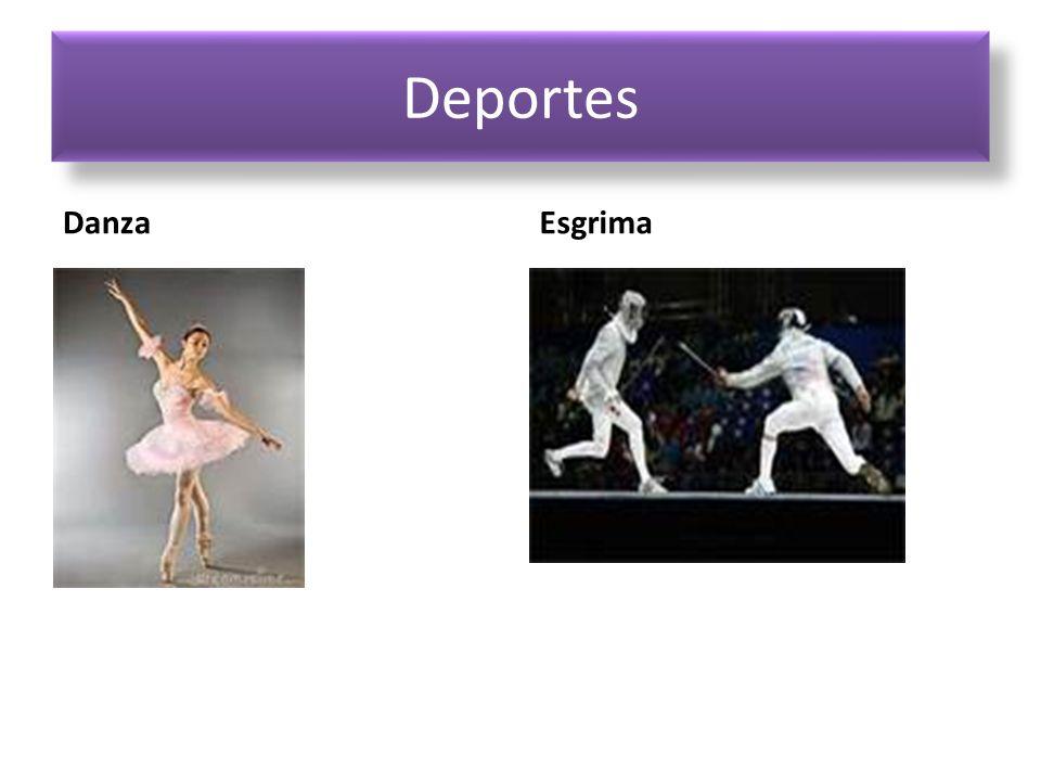 Deportes Danza Esgrima