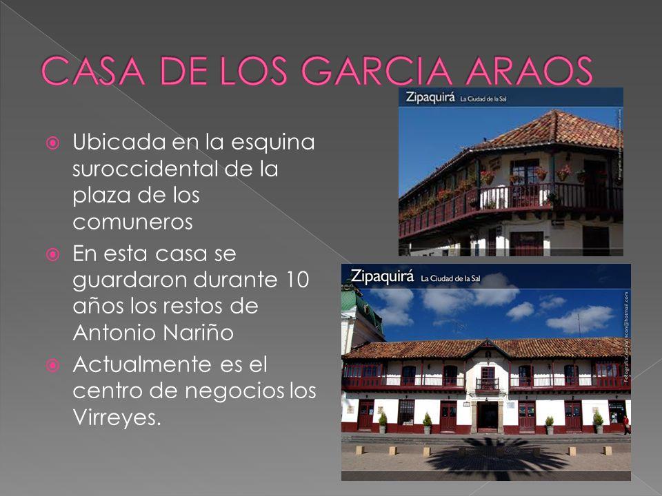 CASA DE LOS GARCIA ARAOS