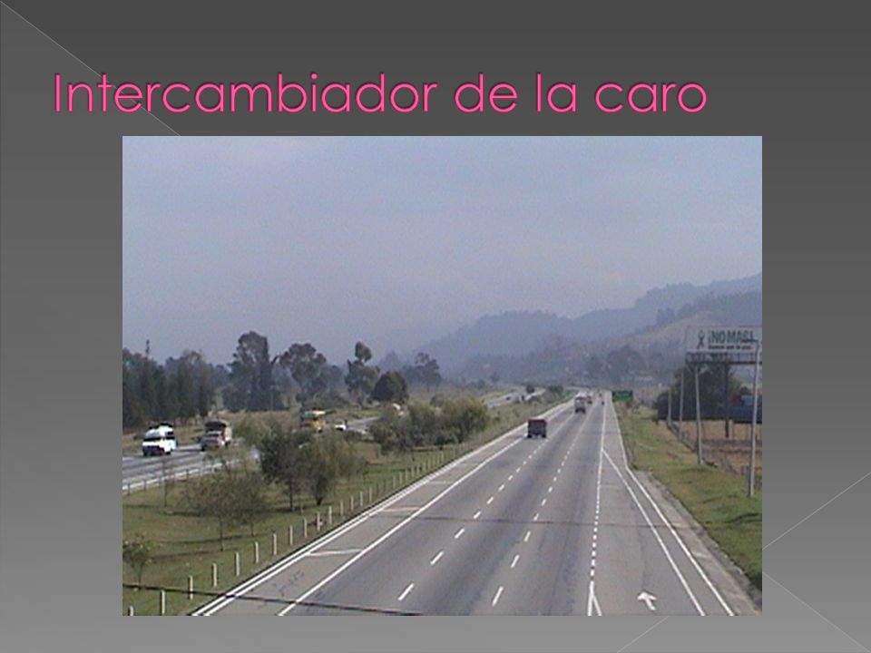 Intercambiador de la caro